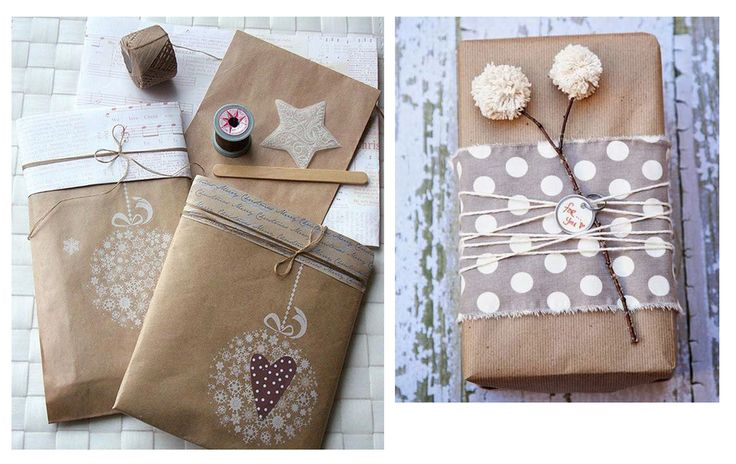 Упаковка рождественских и новогодних подарков — Дизайн-студия AND Нижний Новгород