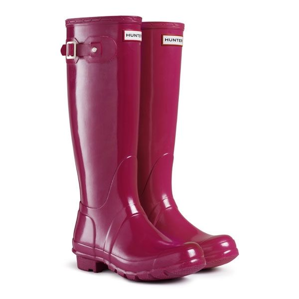 Hunter Original Gloss Wellington Boots - A must have this #monsoon