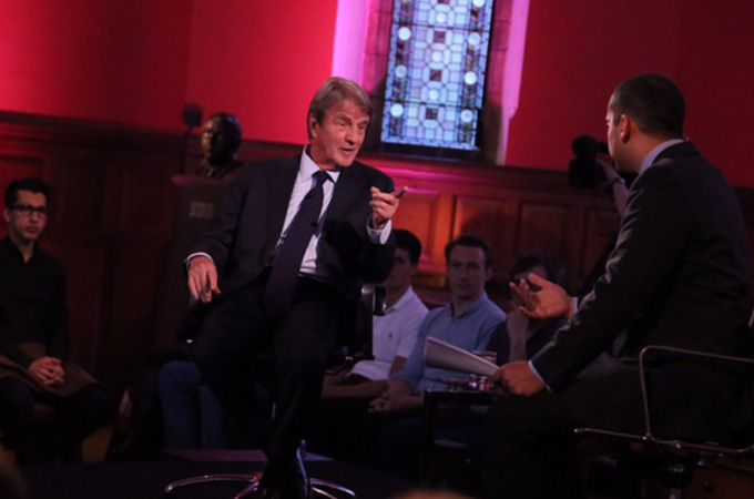 Mehdi Hasan challenges former French FM Bernard Kouchner on whether interventions are a facade for Western imperialism.