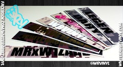 Name Tape Decals! Perfect for labeling pelican boxes, laptops, tablets, anything!