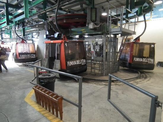 Hotel Caesar Palace Gondolas/cable cars to Mount Etna