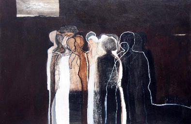 Acrylic on Board by Odelle Morshuis