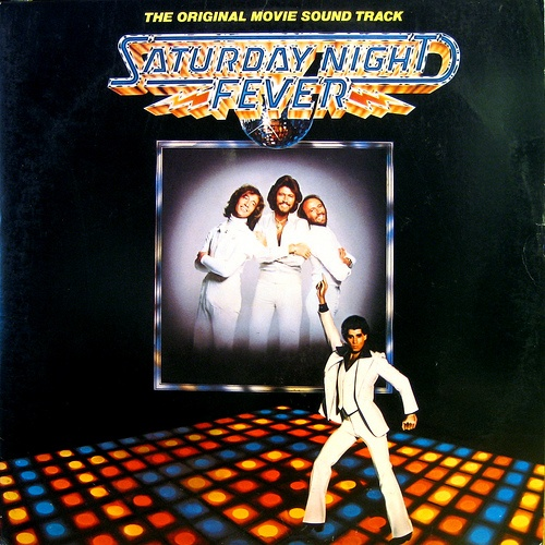 Saturday Night Fever  Soundtrack  RSO RS-2-4001  1977