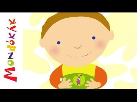 Kerekecske, dombocska (mondóka, rajzfilm gyerekeknek) - YouTube
