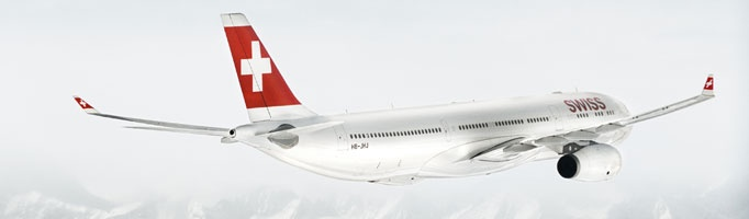 SWISS ist die nationale Fluggesellschaft der Schweiz und steht für deren traditionelle Werte ein.