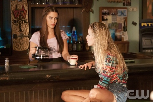 """gorg!!!! """"Vegas, Maybe?""""--LtoR: Jessica Lowndes as Adrianna Tate-Duncan and Gillian Zinser as Ivy Sullivan on 90210 on The CW. Photo: Michael Desmond/The CW. ©2011 The CW Network. All Rights Reserved."""