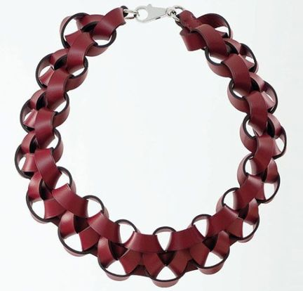 petit h necklace - recycled collection  fw2011