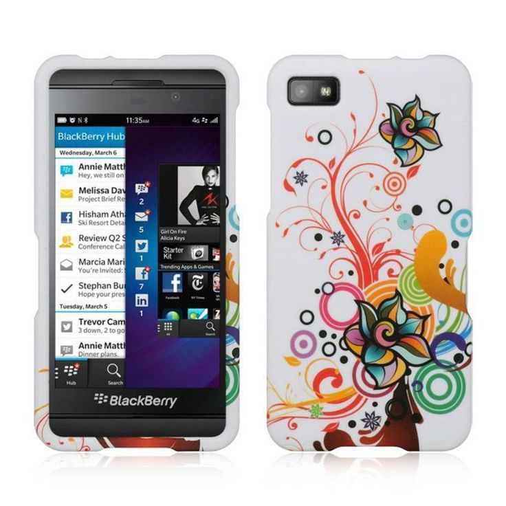 Insten Colorful Hard Snap-on Rubberized Matte Case Cover For BlackBerry Z10, #2291993