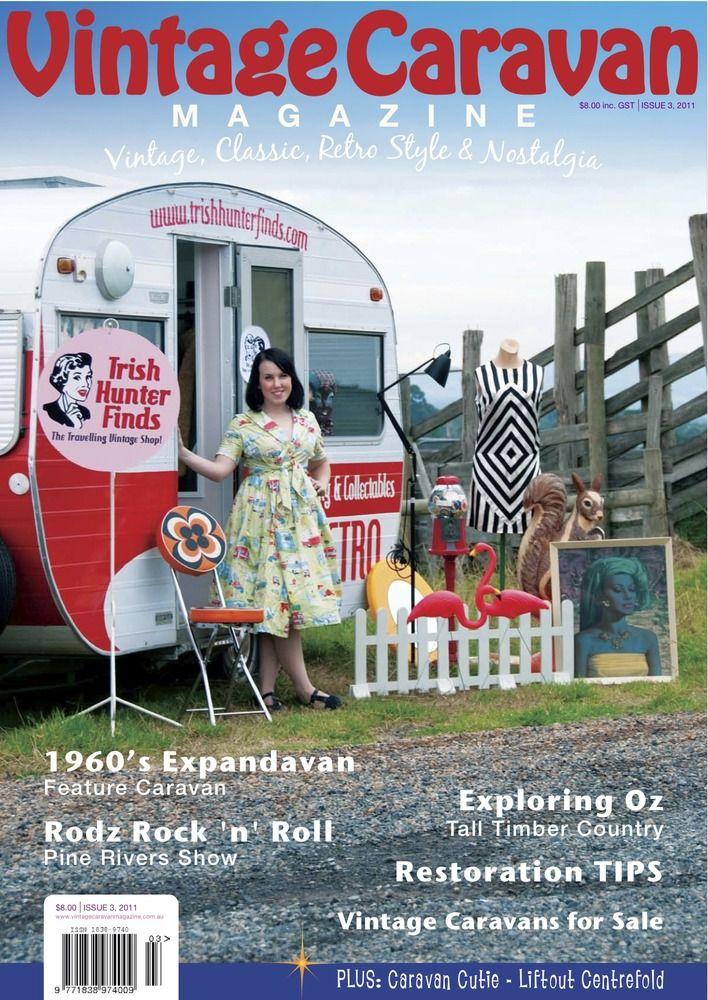 Vintage Caravan Magazine — Issue 3 Vintage Caravan magazine, this was they thing, Caravan!