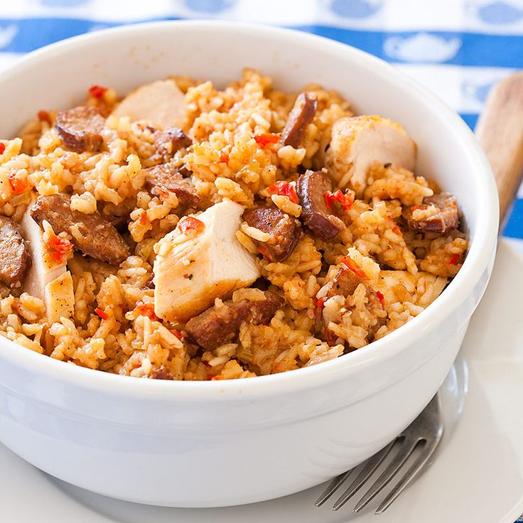The 25 best recipe for jambalaya ideas on pinterest veggie our recipe for jambalaya utilizes smoky spicy andouille sausage and fondtasty browned bits left behind by the seared chicken and sausagewhich added rich forumfinder Choice Image