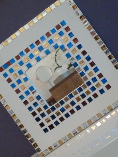 die besten 17 ideen zu mosaikspiegel auf pinterest. Black Bedroom Furniture Sets. Home Design Ideas