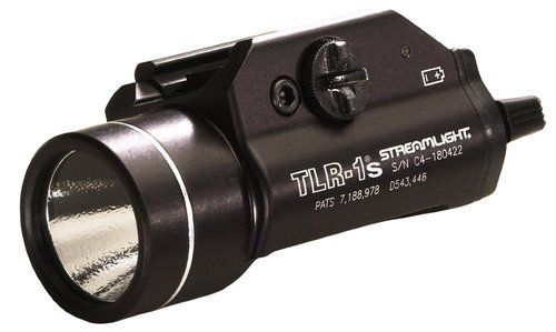 Streamlight - 69210 - TLR-1S Rail Mounted Tactical Light or Strobing Light