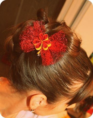 QUILLING - Hair Ornaments