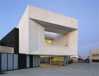 TEATRO MUNICIPAL  ALMONTE/SPAIN/2010    Donaire Arquitectos