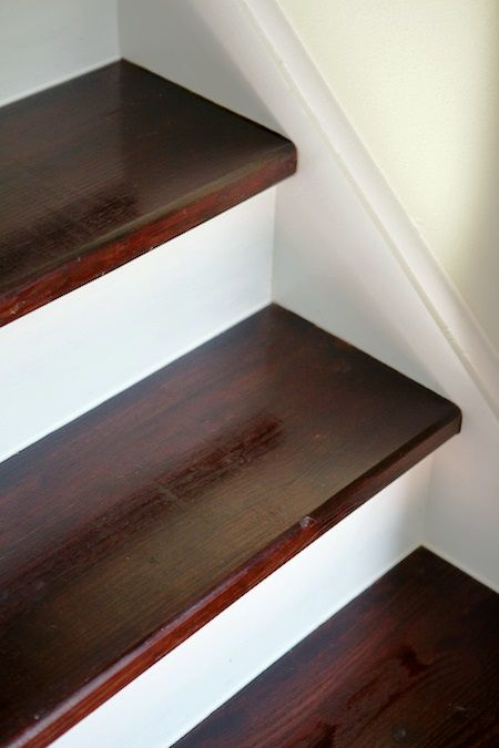 1000 Images About Stairs Stained With Minwax On Pinterest