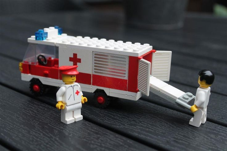 LEGO 6680, Ambulanstransport. 1981 på Tradera.com