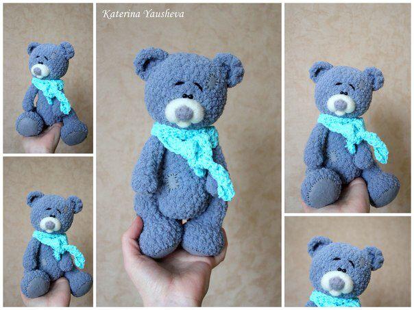 Teddy. Авторская работа. #teddy #мишки #handmade