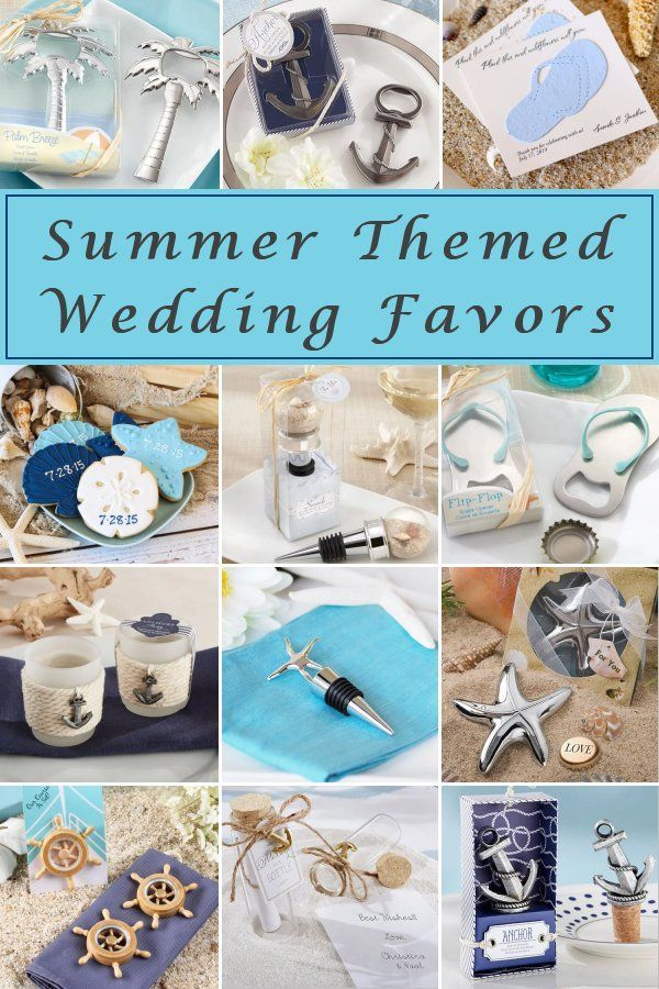 Summer Themed Wedding Favors Elegant Wedding Ideas Themed Wedding Favors Beach Theme Wedding Favors Summer Wedding Favors