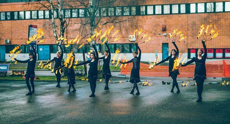 Finnish Fire Group Belenos! #fire #firegroup #showlife #blacklace www.Belenosshow.fi