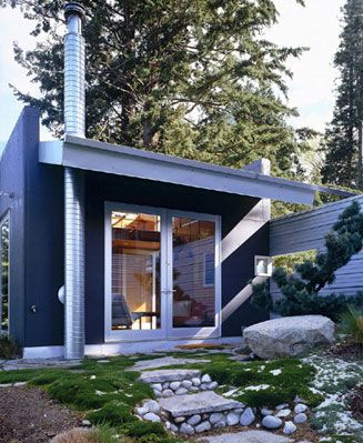 Another Beautiful Modern Cabin Im Amazed At What They Can Do