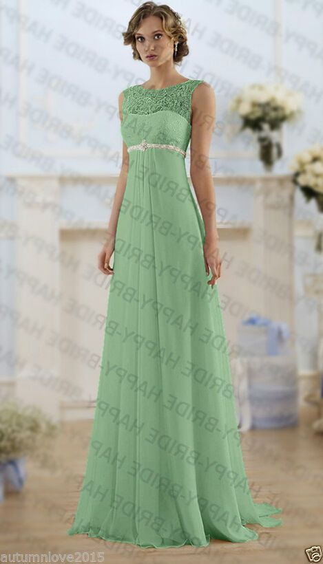 Long Lace Beads Bridesmaid Dresses Formal Wedding Evening Party Gown Prom  Dress Bridesmaid Dresses Formal 926830c5b