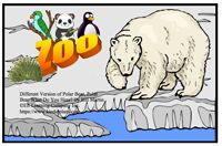 """Alphabet Sight Word Reader  Polar Bear Retelling - """"Pp"""" Focus Letter"""