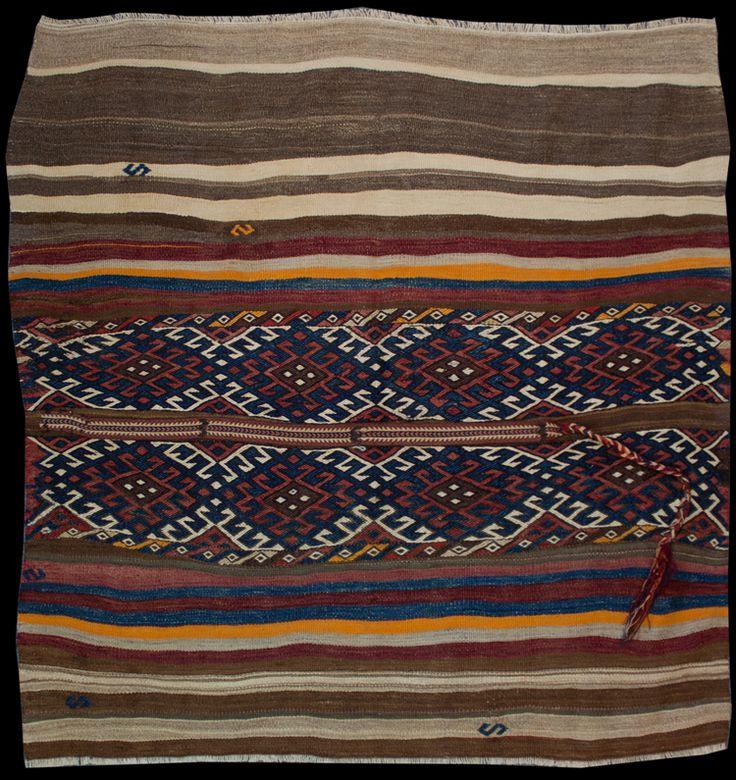 Anatolian Malatya Jijim Kilim  127 x 124 cm
