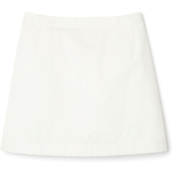 Eyelet skirt ❤ liked on Polyvore featuring skirts, white knee length skirt, white skirt, short white skirt, short skirts and drawstring skirt
