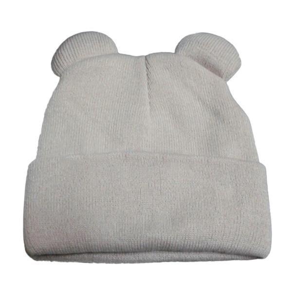 2017 Women's Winter Hats Warm Knitted Braid Hat With Ears Women's Hat Knit Caps Female Beanies Hip-hop Skullies Bonnet