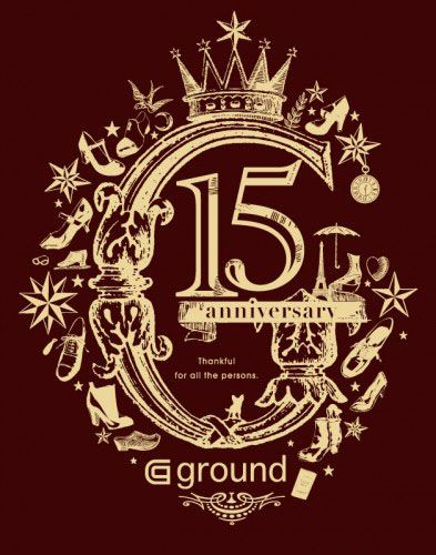 ground15周年記念ロゴマーク   http://ground.co.jp/blogs/15年ありがとうございます%E3%80%80~ヨーロッパ出張~/