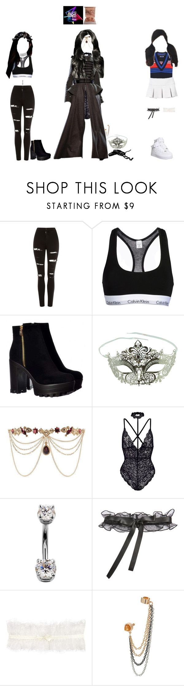 """Kaeligh, special stage MAMA"" by kaelighofficial ❤ liked on Polyvore featuring Topshop, Calvin Klein Underwear, Masquerade, Forever 21, Miu Miu, La Perla, Somerset by Alice Temperley, MAMA2017, mama2017day1 and mama2017performance"