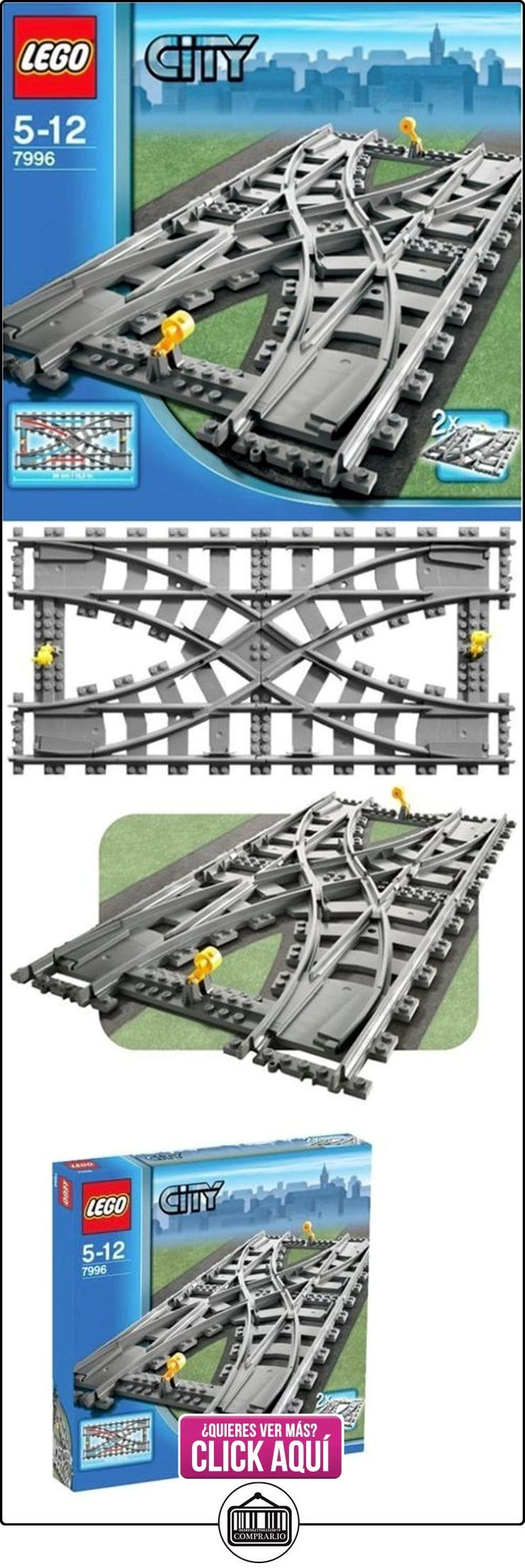 LEGO City 7996 - Cruce de vías de tren  ✿ Lego - el surtido más amplio ✿ ▬► Ver oferta: https://comprar.io/goto/B000NCE6TQ