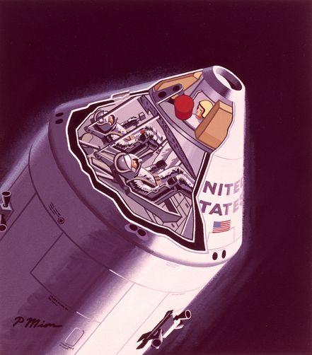 apollo capsule diagram - 441×502