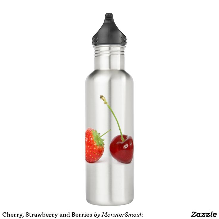 Cherry, Strawberry and Berries 710 Ml Water Bottle