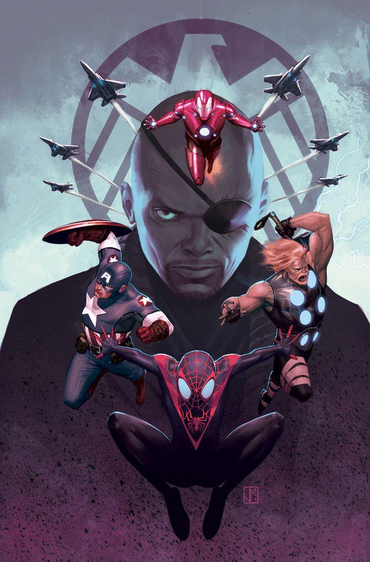 Ultimate Spiderman 16 Cover by ZurdoM.deviantart.com Artist: Jorge Molina