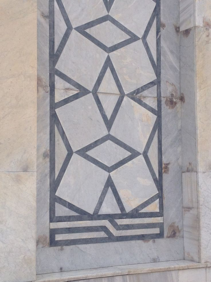 Graphic tiles, Dome of the Rock, Jerusalem