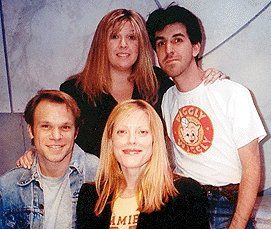Daisy Prince, Jason Robert Brown, Norbert Leo Butz, and Sherie Rene Scott for The Last Five Years (2002)
