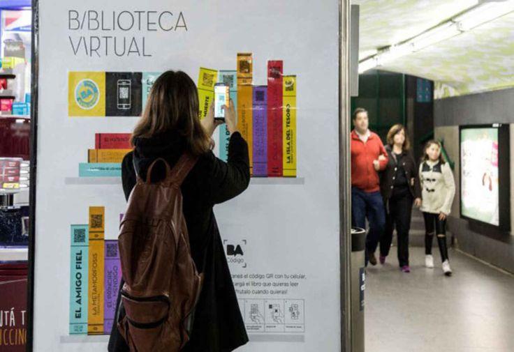 Inauguran bibliotecas digitales en estaciones de subte de la Ciudad - Libros