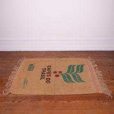coffee jute bag rugs - Google Search