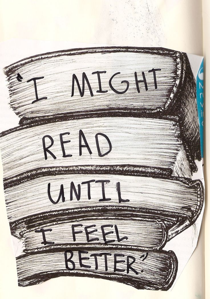 which doesn't take very long. books make me happy