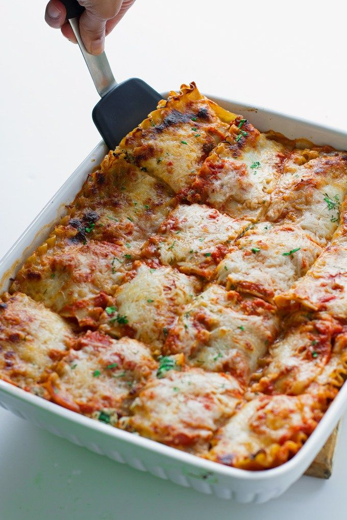 how to cook spinach for lasagna