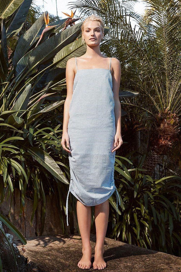 Shona Joy - Picasso Ruched Slip Dress