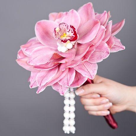 фото: Букет невесты из орхидеи - Букет невесты «Орхидея»