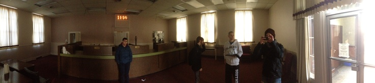 INT. BANK - location scout photo. Panorama