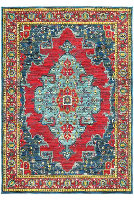 Venice Area Rug - Traditional Rugs - Synthetic Rugs - Machine-made Rugs | HomeDecorators.com