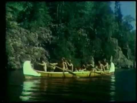 Vídeo de 1970 que recrea un viaje de comercio de pieles de la época de la Guerra Franco India.