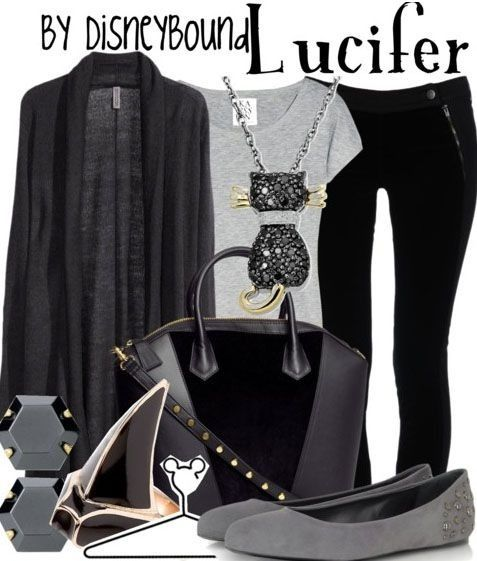 Lucifer outfit by Disney Bound