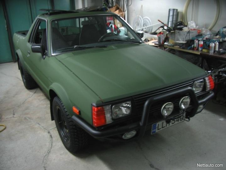 Truck Thursday – Subaru Army Brat | Hooniverse