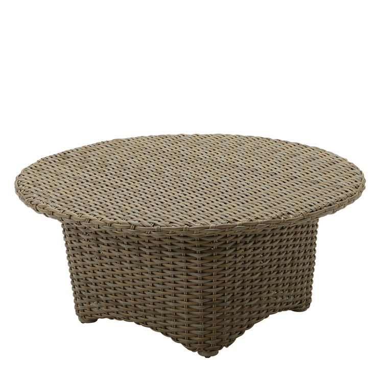Sunset Round Conversation Table (Woven Top)