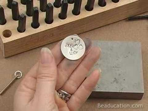 Hand Stamped Metal - How to Make Personalized Jewelry   hubpages